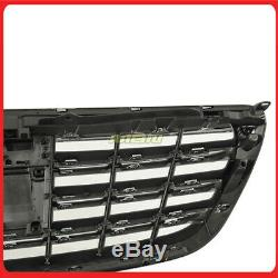 14-19 Mercedes Benz S500 S550 S600 S63 W222 Front Grille S65 Style BLK/CHROME