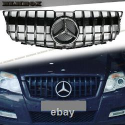 2008 2009 2010 2011 2012 For Mercedes Benz X204 Glk Gt Gloss Piano Black Grille