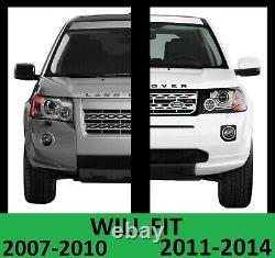 2012 Facelift Front Bumper+Black Grille for Freelander 2 LR2 late conversion