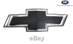 2019-2021 Chevrolet Silverado 1500 Illuminated Front Grille Emblem 84602325 Blk