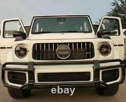 Aftermarket Black Front Grille Brush Guard Mercedes Benz W463 G63 2019+ Style