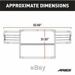 Aries 1.5 Grille Guard Kit CS SG BLK for GM Tahoe/Silverado/Suburban 1500 99-06