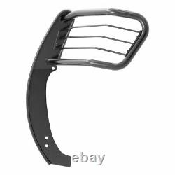 Aries 1.5 Grille Guard Kit Carbon Steel SG BLK for Nissan Armada/Titan 04-15