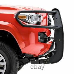 Aries Pro 1.5 Grille Guard Kit Carbon Steel Texture BLK for Toyota Tacoma 16-19