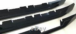 Black Horse 16-18 Silverado1500 Overlay Grille Trims Gloss Black BH-ABS6487BLK