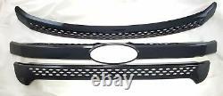 Black Horse 2011-2015 Ford Explorer Overlay Grille Trims Gloss Black