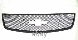 Black Horse 2013-2017 Chevrolet Traverse Overlay Grille Trims Gloss Black