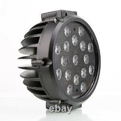 Black Horse Grille Guard Kit S/S Set of 7 BLK LED Fit 00-06 Chevy Suburban1500