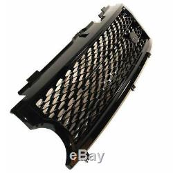 Black SUPERCHARGED conversion grille kit for Range Rover L322 03-05 Vogue grill