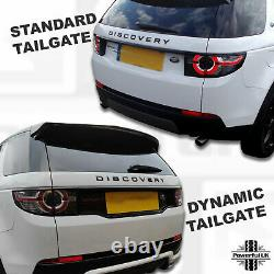 Dynamic Black kit for Discovery Sport=front grille+side vents+rear number plate