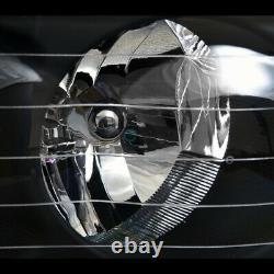 Fit 02-05 Dodge Ram Blk Headlight Parking Signal nb+Rivet Bolt Mesh Front Grille