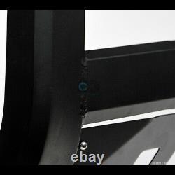 Fit 04-20 F150/Expedition Matte Blk AVT Aluminum LED Light Bull Bar Grille Guard