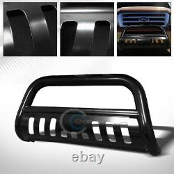 Fit 04-20 Ford F150/03-17 Expedition Blk Bull Bar Brush Push Bumper Grille Guard