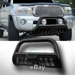 Fit 04-20 Ford F150/Expedition Matte Blk Bull Bar Brush Push Bumper Grille Guard