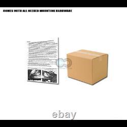 Fit 19-21 Silverado/Sierra 1500 Matte Blk/Skid Bull Bar Push Bumper Grille Guard
