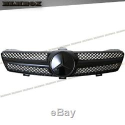 Fit BENZ 05-08 W219 CLS-Sedan Front Bumper Fence Grille-Gloss Black B-SL D1 Look