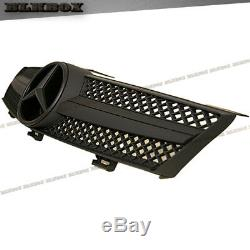 Fit BENZ 05-08 W219 CLS-Sedan Front Bumper Fence Grille- Matte Black B-SL Look