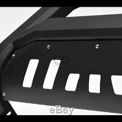 Fits 01-04 Nissan Frontier/02+ Xterra Matte Blk AVT Bull Bar Bumper Grille Guard