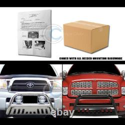 Fits 02-08 Dodge Ram 1500/03-09 2500/3500 Blk Bull Bar Brush Bumper Grille Guard