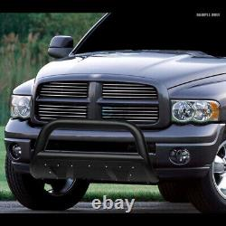 Fits 05-15 Toyota Tacoma Textured Blk Studded Mesh Bull Bar Bumper Grille Guard