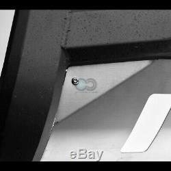 Fits 05-19 Nissan Frontier Matte Blk/Skid AVT Bull Bar Brush Bumper Grille Guard