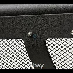 Fits 09-18 Dodge Ram 1500 Textured Blk Studded Mesh Bull Bar Bumper Grille Guard