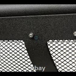 Fits 10-18 Dodge Ram 2500 Textured Blk Studded Mesh Bull Bar Bumper Grille Guard