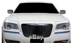 Fits 2011-2014 Chrysler 300 Black Chrome Grille Vertical Bar Bentley Grill