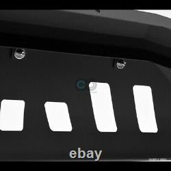 Fits 88-93 Chevy/GMC C10 Pickup Matte Blk AVT Bull Bar Brush Bumper Grille Guard