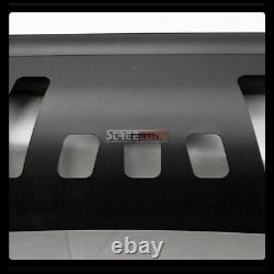 For 07-14 Avalanche/Escalade Matte Blk Bull Bar Grille Guard+36W CREE LED Lights