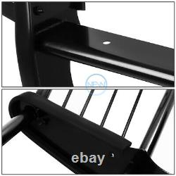 For 08-10 Ford F250-550 Superduty Blk Bumper Grill Protector Grille Brush Guard