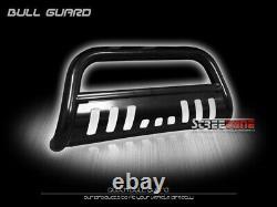For 10-21 Toyota 4Runner Blk Steel Bull Bar Brush Push Bumper Grill Grille Guard