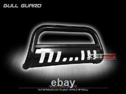 For 11+ Durango/Grand Cherokee Blk Bull Bar Brush Push Bumper Grill Grille Guard