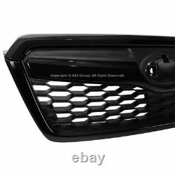 For 14-18 Subaru Forester STI Style Black Grill Front Upper Grille Assembly