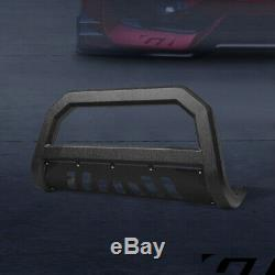 For 1997-2004 Ford F150/F250 Textured Blk AVT Edge Bull Bar Bumper Grille Guard