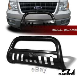 For 2003-2017 Ford Expedition Blk Bull Bar Brush Push Bumper Grille Grill Guard