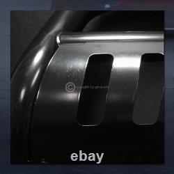 For 2005-2021 Frontier/Xterra Blk Steel Bull Bar Brush Bumper Grill Grille Guard