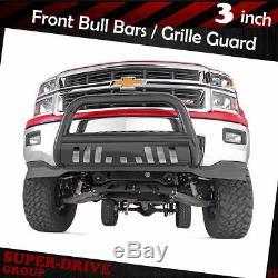 For 2007-2015 GMC YUKON XL 1500 2500 BLK Bumper Bull Bar Grille Guard Skid Plate