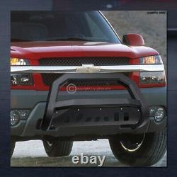 For 2014-2019 Toyota Highlander Matte Blk AVT Edge Bull Bar Bumper Grille Guard