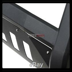 For 99-07 Chevy Silverado/Sierra 1500 Matte Blk AVT Bull Bar Bumper Grille Guard