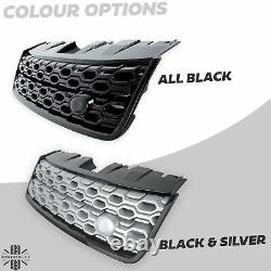 Front grille new 2020 facelift look for Land Rover Discovery Sport Black Pack