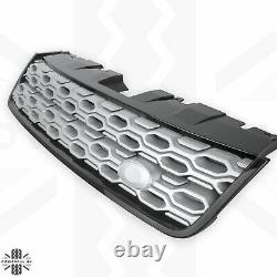 Front grille new 2020 facelift look for Land Rover Discovery Sport Black+Silver