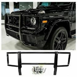 G63 G550 G500 G-class W463 G-wagon Amg Black Front Bumper Grille Brush Guard