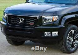 Genuine OEM Honda Ridgeline Black Sport Grille 2009-2014 (71100-SJC-A61ZA)