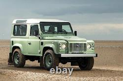 Gloss Black Heritage edition style front grille for Land Rover Defender 90 110
