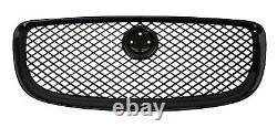 Gloss Black pack Front Grille for Jaguar XJ mesh supercharged LWB SWB portfolio