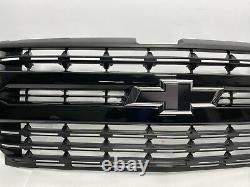 Grille For Silverado 1500 Pickup Ltz Like New OEM Assy W-Emblem Blk