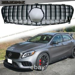 Gt Black Glossy Frame Grille Fit 2018 2019 2020 Mercedes Benz X156 Suv Gla Class