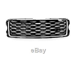 HAWKE MY18 style front grille fit RANGE ROVER VOGUE L405 2013-2018 GENUINE blk/s
