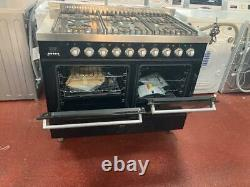 Ilve KD-1006-MP-BLK 100cm Ultimo Dual fuel Range cooker Ex Display